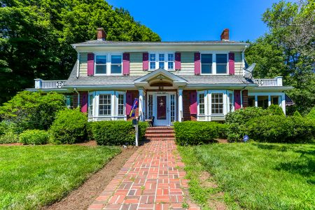 Front Exterior Photograph of 28 Lincoln Street, Franklin MA
