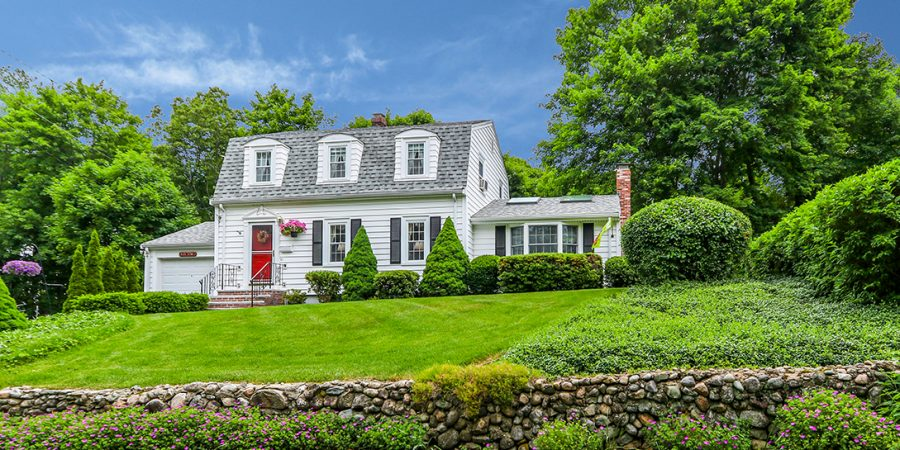 Gambrel Style Home For Sale