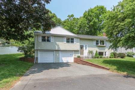 Front Exterior Image of 91 Pacella Drive in Dedham MA