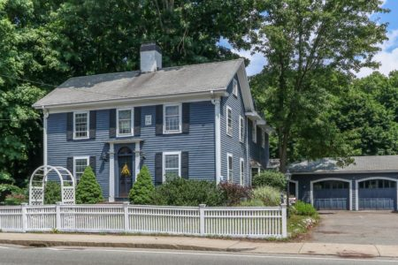 Front Exterior Photograph of 754 High Street, Westwood MA