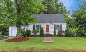 Front Exterior Photograph of 105 Woodard Avenue, Brockton MA