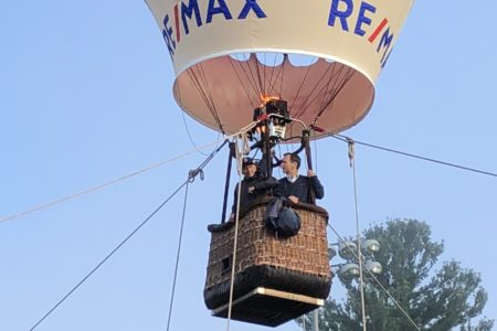 Big Max Balloon at Westwood Day