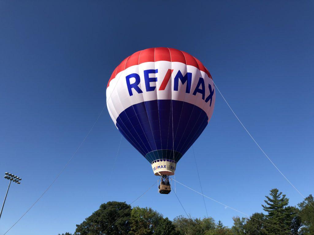 Big Max Balloon at Westwood Day