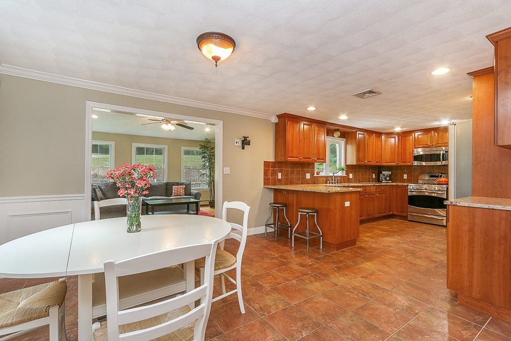 Photograph of Kitchen at 214 Causeway Street in Medfield