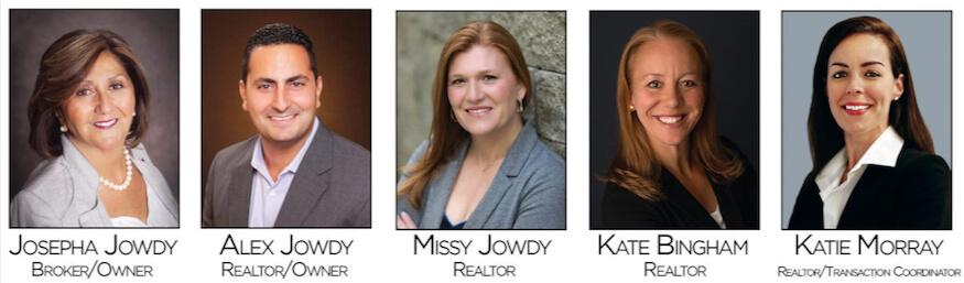The Jowdy Group - Josepha Jowdy, Alex Jowdy, Missy Jowdy, Kate Bingham and Katie Morray