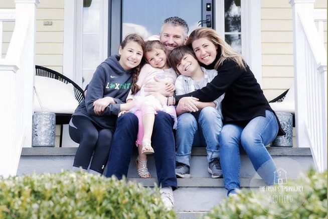 Picture of Katerina P & family.