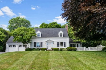 Front Exterior Photograph of 37 Salisbury Drive, Westwood MA